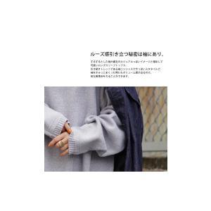 ニット トップス カジュアル オリジナル 綿ニットトップス・2月6日20時〜再再販。##メール便不可|antiqua|13