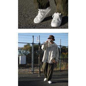 靴 シューズ スニーカー メンズ 軽量 履きやすい 歩きやすい MAP厚底スニーカー・1月29日20時〜再販。「G」##メール便不可|antiqua|17