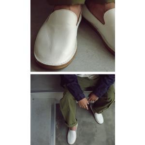 靴 スリッポン 本革 日本製 大人 極やわスリッポン・再販。「G」##メール便不可|antiqua|16