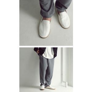 靴 スリッポン 本革 日本製 大人 極やわスリッポン・再販。「G」##メール便不可|antiqua|17