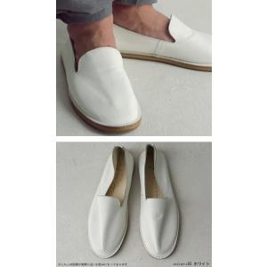 靴 スリッポン 本革 日本製 大人 極やわスリッポン・再販。「G」##メール便不可|antiqua|18