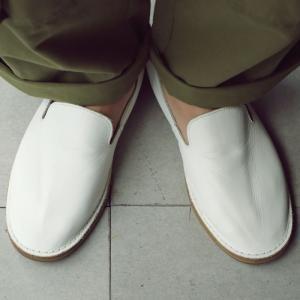 靴 スリッポン 本革 日本製 大人 極やわスリッポン・再販。「G」##メール便不可|antiqua|19