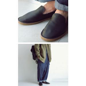 靴 スリッポン 本革 日本製 大人 極やわスリッポン・再販。「G」##メール便不可|antiqua|03