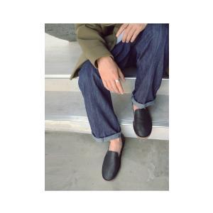 靴 スリッポン 本革 日本製 大人 極やわスリッポン・再販。「G」##メール便不可|antiqua|04