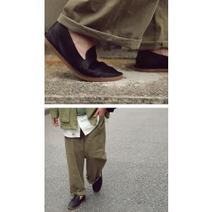 靴 スリッポン 本革 日本製 大人 極やわスリッポン・再販。「G」##メール便不可|antiqua|05