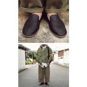 靴 スリッポン 本革 日本製 大人 極やわスリッポン・再販。「G」##メール便不可|antiqua|06