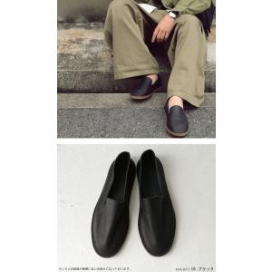 靴 スリッポン 本革 日本製 大人 極やわスリッポン・再販。「G」##メール便不可|antiqua|07