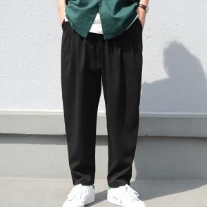 ボトムス メンズ パンツ サルエル サルエルパンツ テーパードパンツ・5月22日20時〜発売。##メール便不可|antiqua