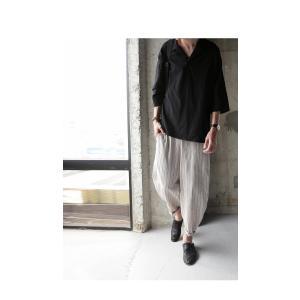 トップス シャツ 七分袖 メンズ 綿 オープンカラー 開襟スキッパーシャツ・「G」(100)メール便可|antiqua|17