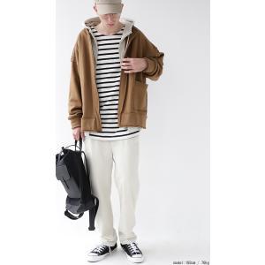 アウター カーディガン 長袖 メンズ ノーカラー 綿 羽織り 裏毛リバーシブルカーデ・2月8日20時〜再再販。「G」##メール便不可|antiqua|14
