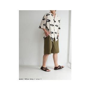 ボトムス パンツ メンズ 綿 ハーフパンツ セットアップ 綿混ポンチハーフパンツ・再販。メール便不可 antiqua 04