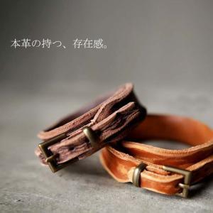 ブレスレット アクセサリー 加工 メンズ 本革ブレスレット・10月6日20時〜再再販。(30)メール便可|antiqua