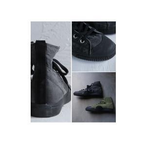 靴 シューズ ハイカット シワ 色落ち加工ハイカットスニーカー・6月30日0時〜再再販。メール便不可|antiqua|13