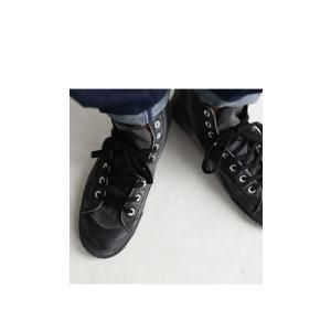 靴 シューズ ハイカット シワ 色落ち加工ハイカットスニーカー・6月30日0時〜再再販。メール便不可|antiqua|16