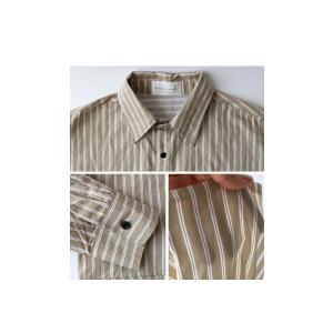ファイナルバーゲン。トップス メンズ シャツ 長袖 ビッグシルエット ストライプシャツ・(100)メール便可(返品・キャンセル・交換不可。)|antiqua|06