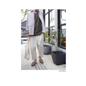 ファイナルバーゲン。トップス メンズ シャツ 長袖 ビッグシルエット ストライプシャツ・(100)メール便可(返品・キャンセル・交換不可。)|antiqua|08