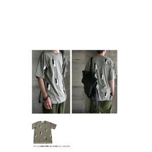 トップス 五分袖 メンズ Tシャツ プルオーバー 柄 ペイントデザインT・6月8日20時〜発売。(100)メール便可|antiqua|11