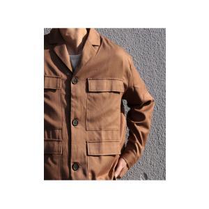 アウター ジャケット テーラード メンズ フラップポケット デザインジャケット・11月9日20時〜発売。##メール便不可|antiqua|11