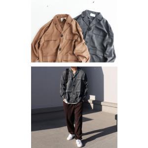 アウター ジャケット テーラード メンズ フラップポケット デザインジャケット・11月9日20時〜発売。##メール便不可|antiqua|03