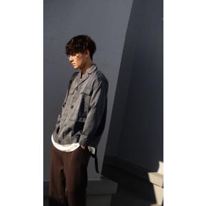 アウター ジャケット テーラード メンズ フラップポケット デザインジャケット・11月9日20時〜発売。##メール便不可|antiqua|04