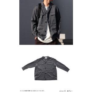 アウター ジャケット テーラード メンズ フラップポケット デザインジャケット・11月9日20時〜発売。##メール便不可|antiqua|06
