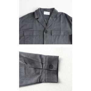 アウター ジャケット テーラード メンズ フラップポケット デザインジャケット・11月9日20時〜発売。##メール便不可|antiqua|07