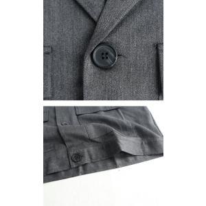 アウター ジャケット テーラード メンズ フラップポケット デザインジャケット・11月9日20時〜発売。##メール便不可|antiqua|08