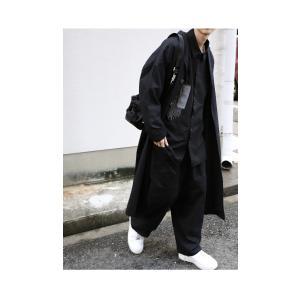 トップス シャツ 長袖 メンズ ブラック セットアップ ステッチデザインシャツ・1月18日20時〜再販。「G」##メール便不可 antiqua 06