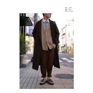 ボトムス パンツ メンズ テーパード タック 長ズボン タックテーパードパンツ・1月25日20時〜再販。「G」##メール便不可|antiqua|12