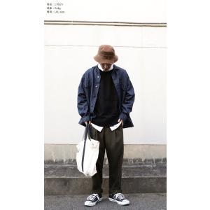 ボトムス パンツ メンズ テーパード タック 長ズボン タックテーパードパンツ・1月25日20時〜再販。「G」##メール便不可|antiqua|14