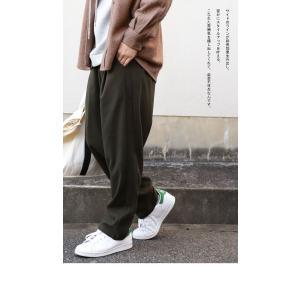 ボトムス パンツ メンズ テーパード タック 長ズボン タックテーパードパンツ・1月25日20時〜再販。「G」##メール便不可|antiqua|15