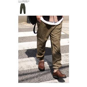ボトムス パンツ メンズ 麻 ジョガーパンツ セットアップ ジョガーカーゴパンツ・7月20日0時〜再販。メール便不可 antiqua 11