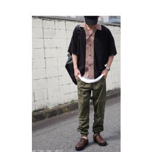ボトムス パンツ メンズ 麻 ジョガーパンツ セットアップ ジョガーカーゴパンツ・7月20日0時〜再販。メール便不可 antiqua 04