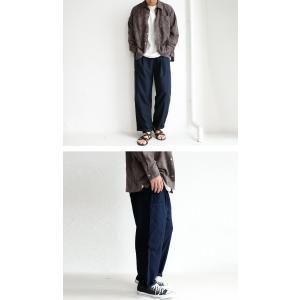 ボトムス メンズ パンツ テーパードパンツ ロングパンツ デザインポケットパンツ・8月15日0時〜再販。メール便不可|antiqua|12