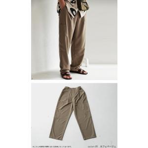 ボトムス メンズ パンツ テーパードパンツ ロングパンツ デザインポケットパンツ・8月15日0時〜再販。メール便不可|antiqua|06