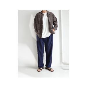 ボトムス メンズ パンツ テーパードパンツ ロングパンツ デザインポケットパンツ・8月15日0時〜再販。メール便不可|antiqua|10