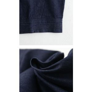 アウター 長袖 メンズ パーカー Gジャン 綿100 綿 フーデットデニムBIGジャケット・10月9日20時〜発売。##メール便不可|antiqua|08