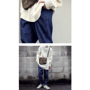 ボトムス デニムパンツ メンズ テーパード ロング テーパードデニム・6月8日20時〜発売。##メール便不可|antiqua|05