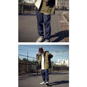 ボトムス デニムパンツ メンズ テーパード ロング テーパードデニム・6月8日20時〜発売。##メール便不可|antiqua|10