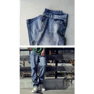 デニムパンツ デニム ボトムス メンズ ヴィンテージデニム・3月20日20時〜再販。「G」##×メール便不可|antiqua|03