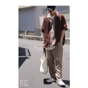 トップス シャツ メンズ 半袖 レーヨン バイカラー ユニセックス レトロバイカラーシャツ・メール便不可 antiqua 09