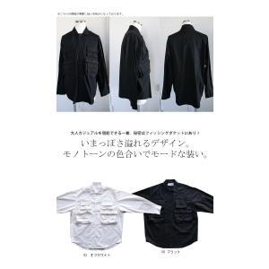 トップス シャツ ジャケット 長袖 メンズ 綿 綿100 フィッシングシャツ・メール便不可|antiqua|02