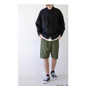 トップス シャツ ジャケット 長袖 メンズ 綿 綿100 フィッシングシャツ・メール便不可|antiqua|11