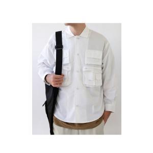 トップス シャツ ジャケット 長袖 メンズ 綿 綿100 フィッシングシャツ・メール便不可|antiqua|13