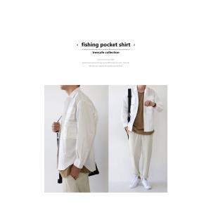 トップス シャツ ジャケット 長袖 メンズ 綿 綿100 フィッシングシャツ・メール便不可|antiqua|15