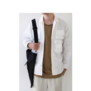 トップス シャツ ジャケット 長袖 メンズ 綿 綿100 フィッシングシャツ・メール便不可|antiqua|16