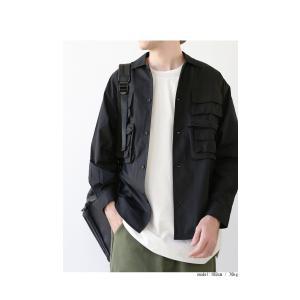 トップス シャツ ジャケット 長袖 メンズ 綿 綿100 フィッシングシャツ・メール便不可|antiqua|03