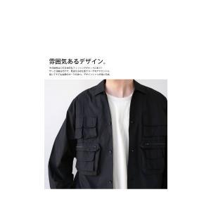 トップス シャツ ジャケット 長袖 メンズ 綿 綿100 フィッシングシャツ・メール便不可|antiqua|10
