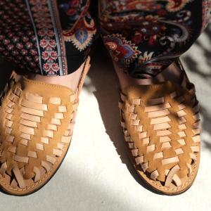 靴 サンダル レディース グルカサンダル メッシュ レザー 本革 メッシュサンダル・5月18日20時〜発売。##メール便不可|antiqua