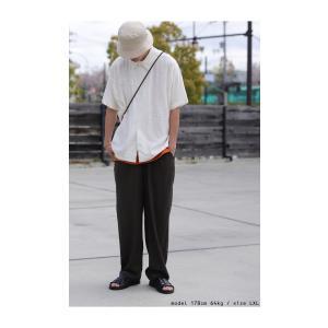 クリアランスバーゲン!期間限定開催!トップス シャツ メンズ 半袖 麻 リネン レーヨン・100ptメール便可(返品・キャンセル・交換不可)|antiqua|05